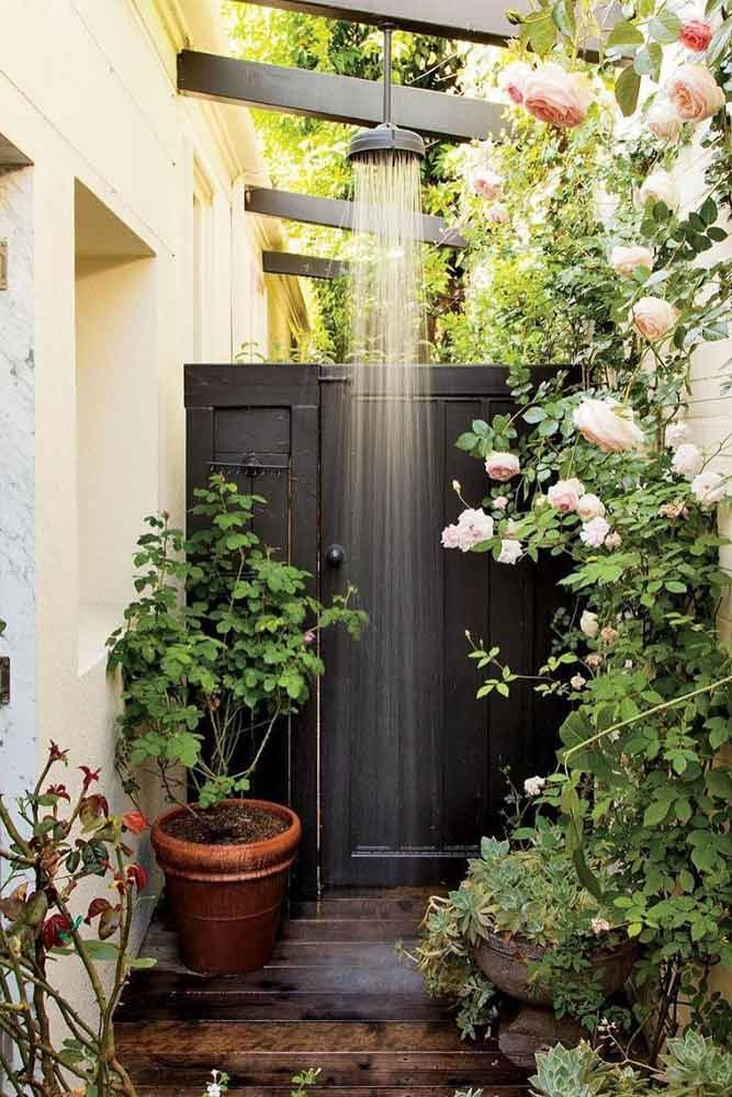 A Collection Of Outdoor Shower Ideas For Your Home Outdoor Shower Outdoor Bathrooms Outdoor