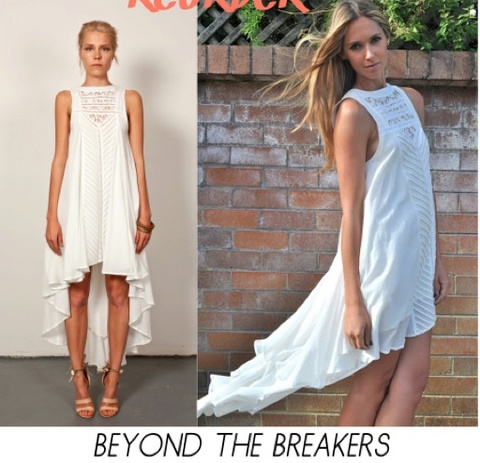 Three of Something Beyond the breakers dress. A repeat of a best seller by this must have label. We highly recommend this dress...it is simply stunning and oh so fresh for Summer  $140