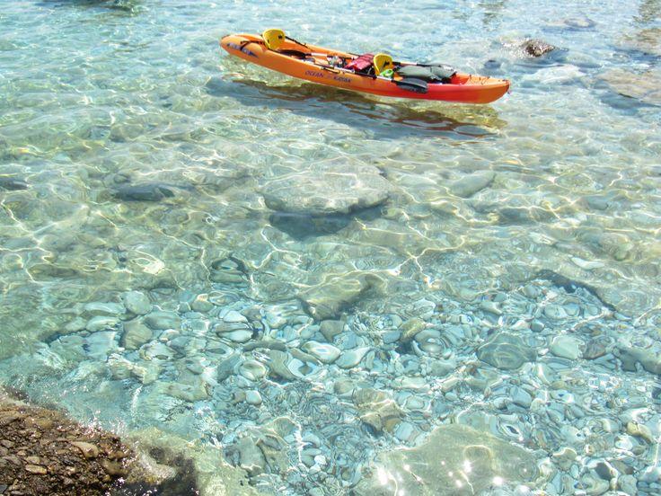 Santorineika beach, Sikinos island, Greece