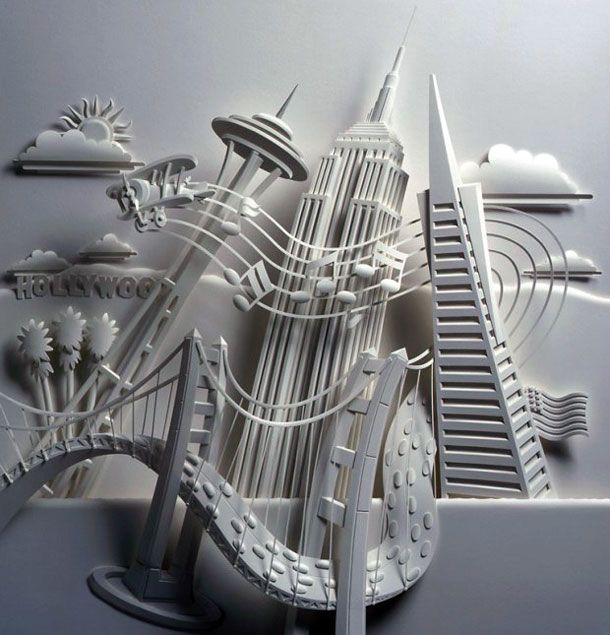 Best Paper Engineering Sculpture Artistry Images On - Artist creates amazing paper sculptures ever seen