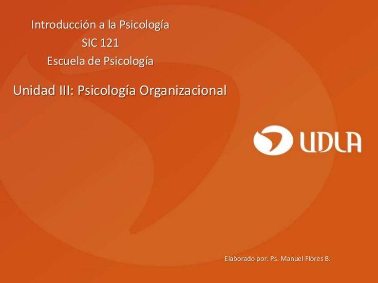 Descripción del rol del psicólogo en las organizaciones