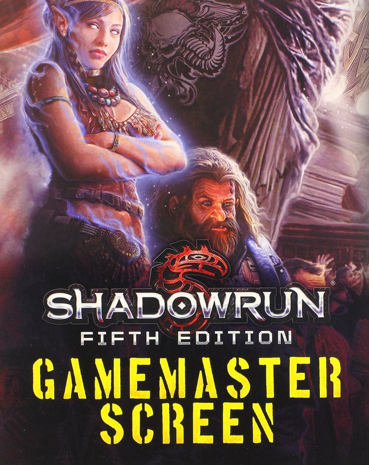 Shadowrun 5th Edition: Gamemaster Screen