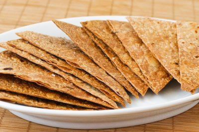 Gluten-Free and South Beach Diet Friendly Baked Brown Rice Tortilla Chips Recipe