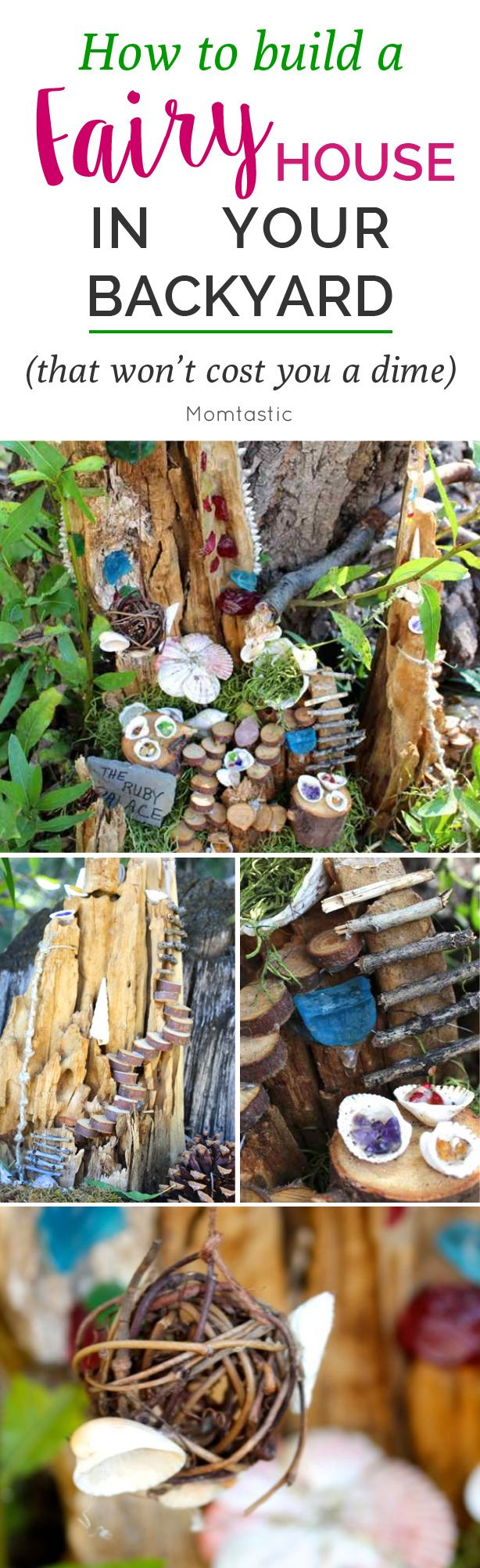 Bit by bit, we are going to transform a corner of our yard into an enchanted place where fairies can flutter and our inner child can be celebrated. The best part…it doesn't have to cost a thing. All you need is creativity, gifts from Mother Nature, and perhaps a sprinkle of pixie dust.
