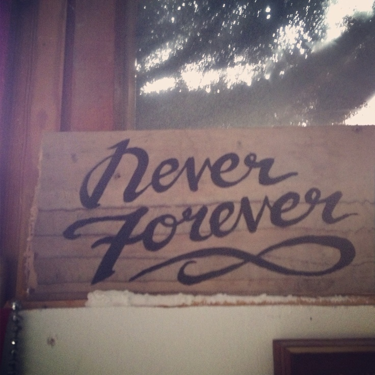 'Für immer' ist'ne lange Zeit