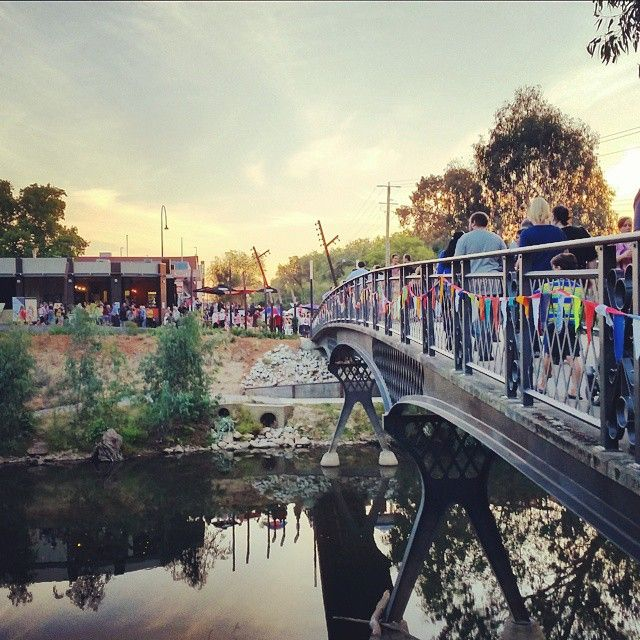The inaugural Down by the River Festival at Wangaratta.