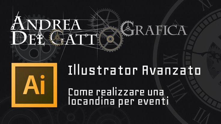 Tutorial avanzato su Adobe Illustrator - Come realizzare una locandina p...