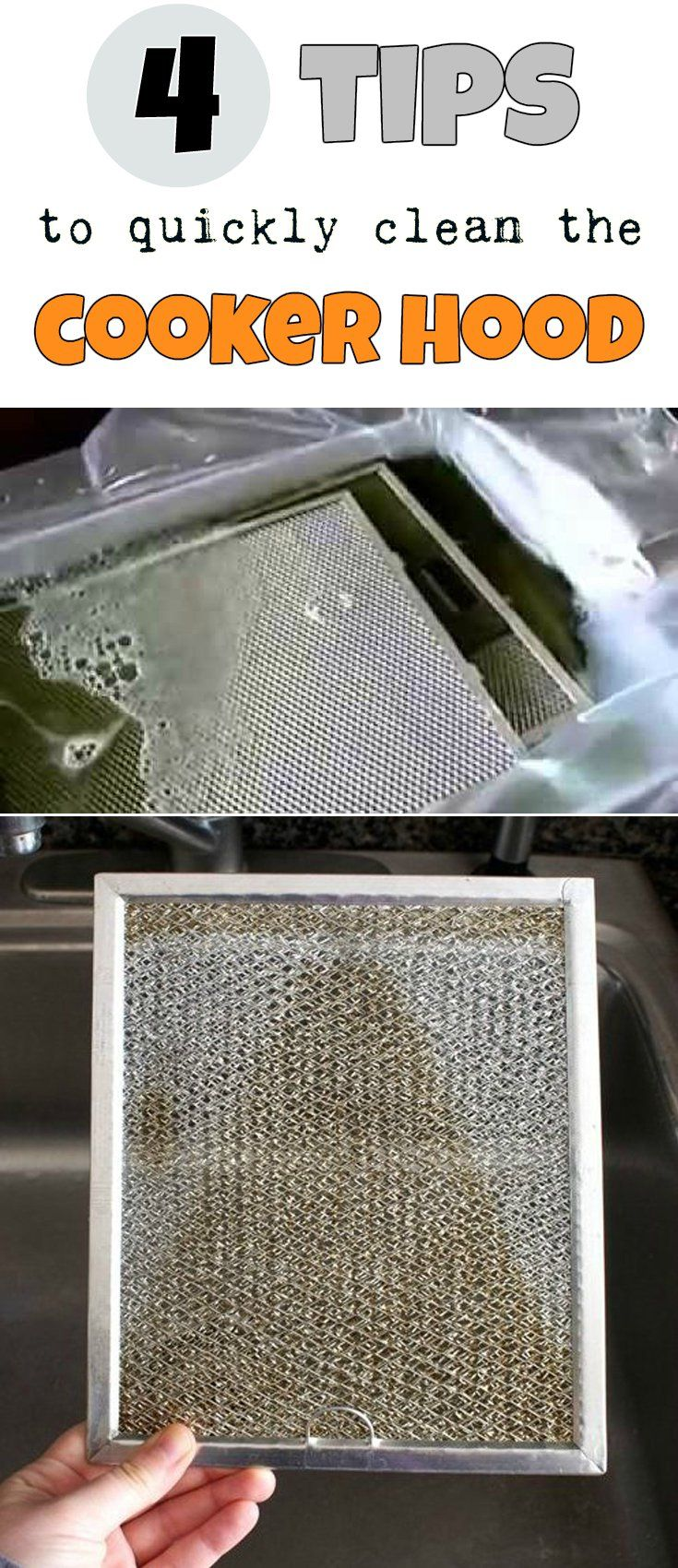4 Tips To Quickly Clean The Cooker Hood Cleaning