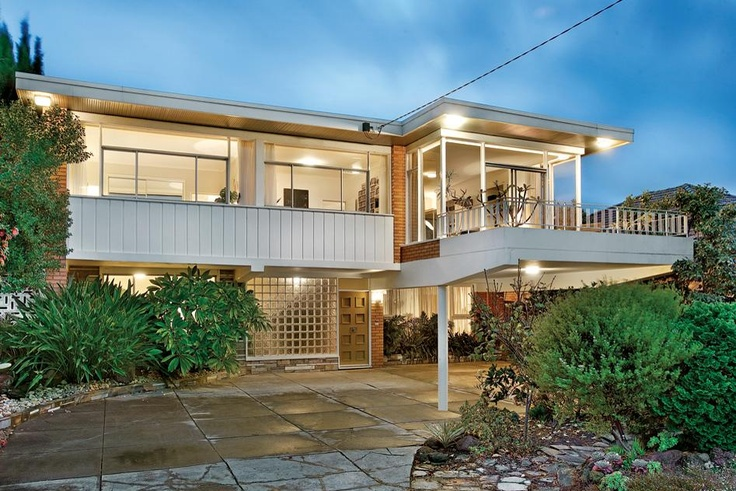 6 Bellevue Road, Balwyn North, a sensitive Mid Century Modern renovation that respects the original style and flow of the home - great result!   Secret Design Studio knows Mid Century Modern, www.secretdesignstudio.com