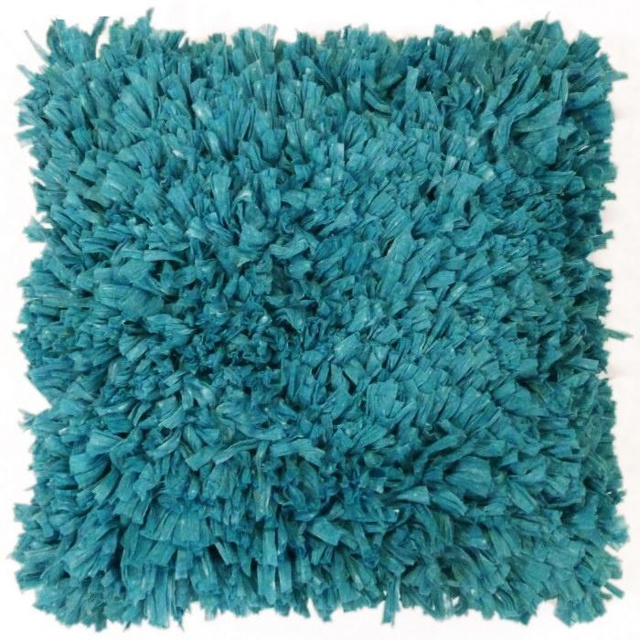 Sierkussen Romano 45x45cm turquoise - Sierkussens