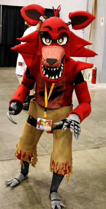 Five nights at freddys foxy foxy fnaf costume cosplay fnaf five nights