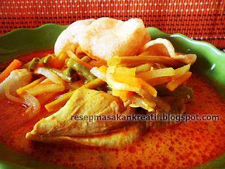 Resep Kuah Lontong Sayur Labu Siam - Resep Masakan Indonesia
