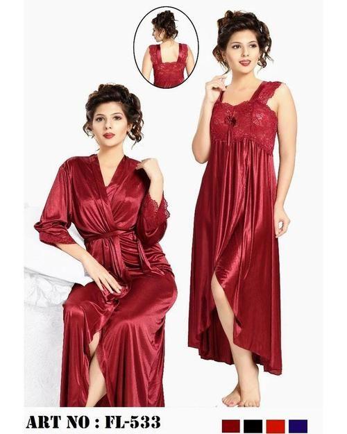 12dae8a841c10 Buy Nighty - FL-533 - Flourish 2 Piece Nightwear Online in Karachi, Lahore,  Islamabad, Pakistan, Rs.{{amount_no_decimals}}, Ladies Nighty Sets Online  ...