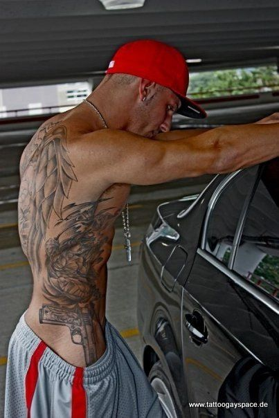 that back tattoo...Tattoo Men, Bad Boys, Nice Tat, Hot Tattoo, Body Art, Back Tattoo, Tattoo Hunks, A Tattoo, Male Tattoo
