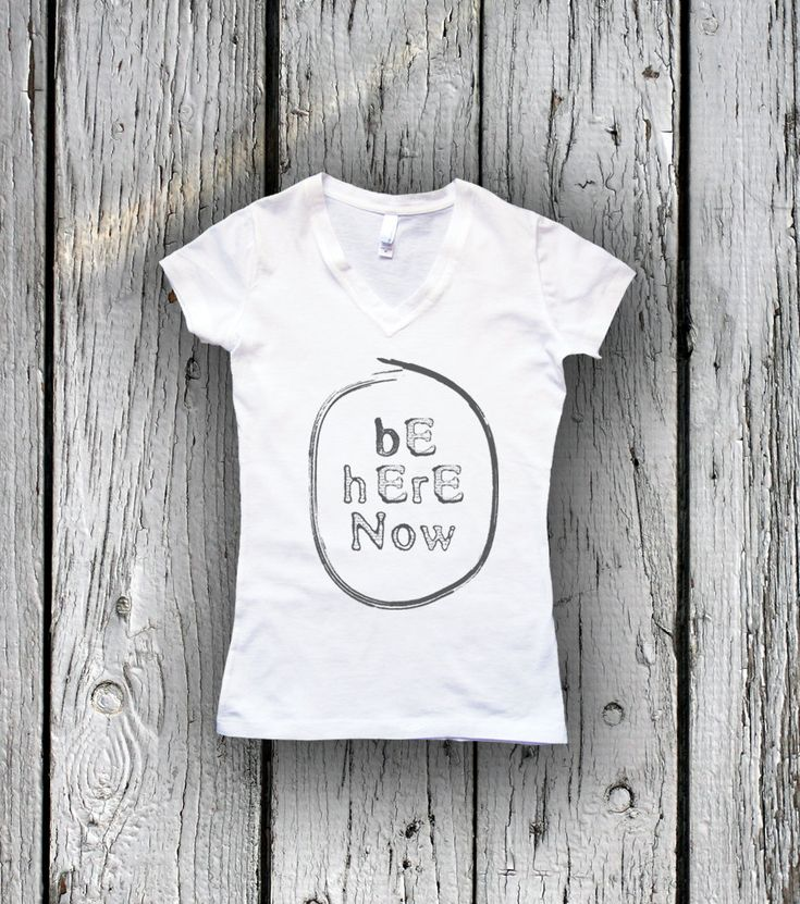 Excited to share the latest addition to my #etsy shop: BE HERE NOW Tee, Motivational Shirt, Inspirational Tee, Meditation Clothes, Uplifting Quote, Yoga Shirt, Zen Quote, V Neck, Graphic Tee, http://etsy.me/2oF3BH0 #clothing #women #tshirt #birthday #christmas #beheren