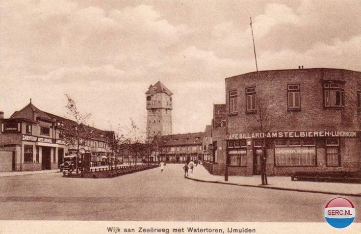Wijk aan Zeeërweg IJmuiden (jaartal: 1930 tot 1940) - Foto's SERC