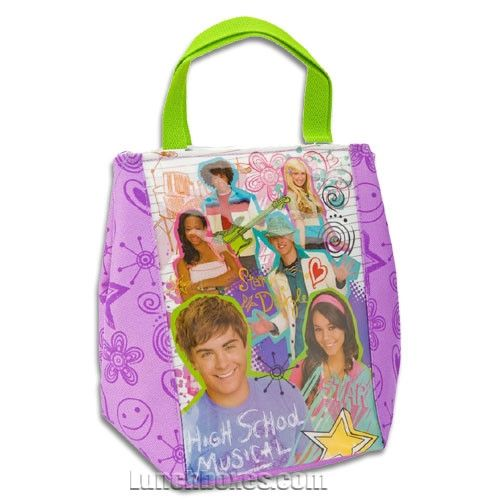 High School Musical Lunch Bag Tote