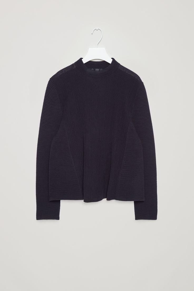 COS   Ripple stitch A-line jumper
