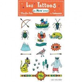 moulin roty tattoos avontuur 713227  | ilovespeelgoed.nl