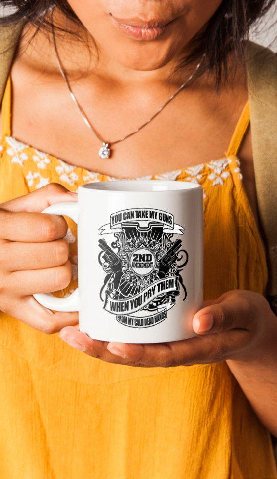 2nd Amendment Rights Travel Mug | Gifts For Gun Lovers | Gun Lover | Gun Lover Gift Ideas |  Guns | Guns Right | Mug For Gun Lovers