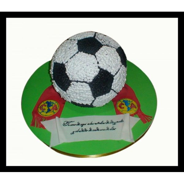 Pastel de Pelota de Futbol