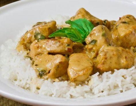 Κοτόπουλο με σάλτσα γιαουρτιού- κάρυ | ekriti