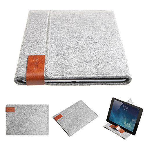 Inateck 2 in 1 Apple ipad Air (2013-2014 Version) Protective Bag Envelope Case Cover Felt Sleeve Carrying Protector Case Bag for Apple iPad Air (5th generation iPad), iPad Air 2, Portable Stand for Tablets Inateck http://www.amazon.com/dp/B00MVFGM4A/ref=cm_sw_r_pi_dp_fsfXub1NAKJDB