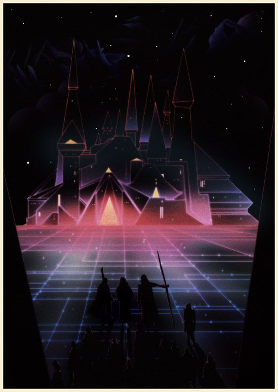 By: Kilian Eng (( There's some images of Killian eng's I have in mind, when i think of the tropical neon palette - can't quite find them yet, but this is kinda close.. glowy, saturated colours, against a dark background... ))