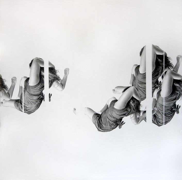 Zips | 30.25 x 30 Inches | Graphite and Ink on Paper | 2010