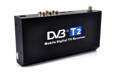 Car DVB-T2 Digital TV Receiver – H.264, HDMI 1080P This new second generation car mobile DVB-T2 receiver decodes not only MPEG-1, MPEG-2, MPEG-4, but also H.264 high definition signal up to 1...