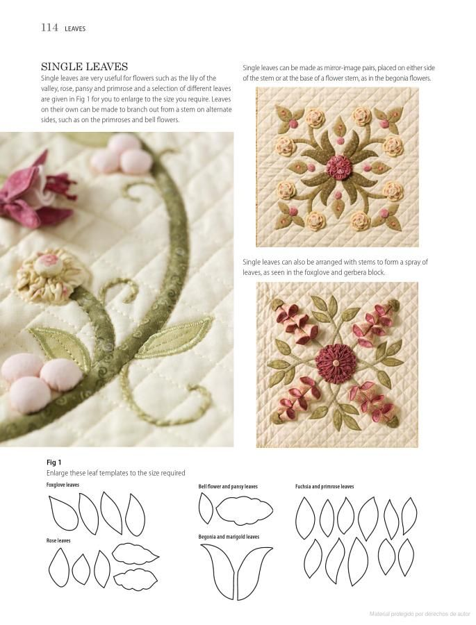 Floral Dimensions: 20 Stunning 3D Flowers to Machine Applique - Pauline Ineson - Google Libros