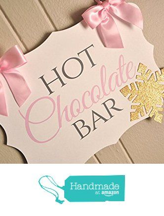 Winter ONEderland Hot Chocolate Banner. Pink and Gold Birthday Party Decorations. from Confetti Momma https://www.amazon.com/dp/B01BE8XJOU/ref=hnd_sw_r_pi_awdo_lS.Pxb5CBYNBX #handmadeatamazon