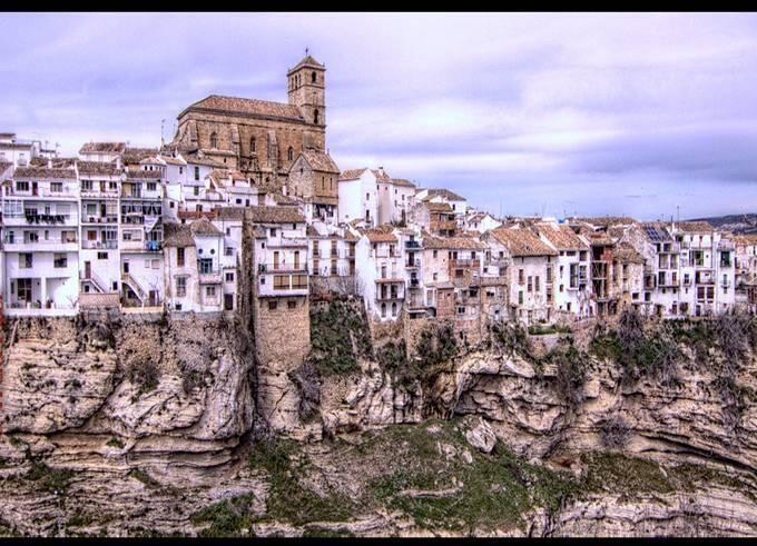 """""""Alhama de Granada sobre Los Tajos"""""""