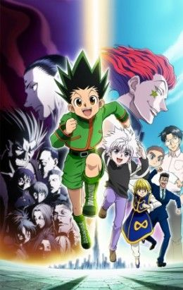 If you loved Hunter X Hunter (2011), you'll love the anime titles here as well.