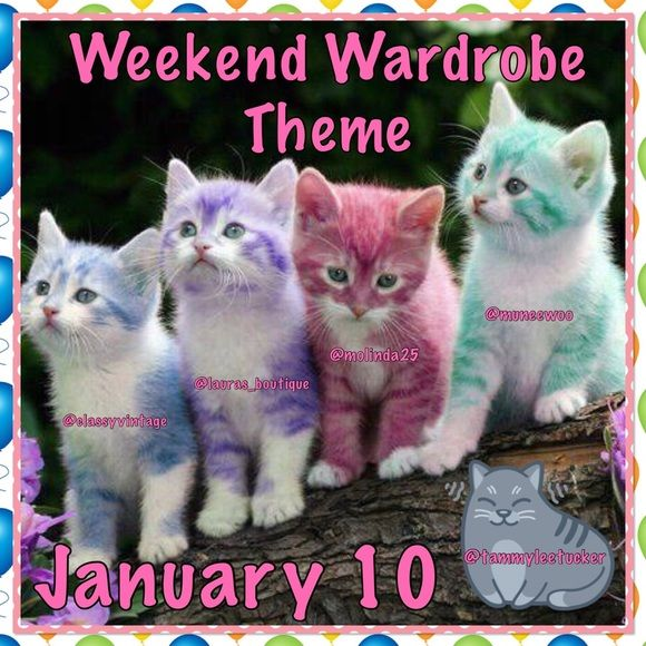 "❤️Co-Hosting Party #2 January 10!❤️ ❤️We have a theme ""Weekend Wardrobe! Please join me as I co-host party #2 on January 10, 2016!❤️I look forward to seeing at all of your amazing closets!I am super excited to be hosting with my lovely PFF's @classyvintage @muneewoo @molinda25 @tammyleetucker!❤️Please like this listing as I will be looking through posh compliant closets for HP's, and please remember to follow me!❣I can't wait to party with all of you, and please share with your PFF's! Lauras…"