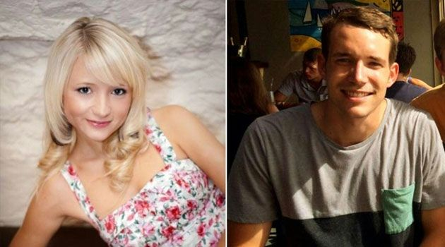 British students murdered in Koh Tao, Hannah Witheridge (L) and David Miller are shown in these photos from Britain's Foreign and Commonwealth Office on September 16, 2014/AFP
