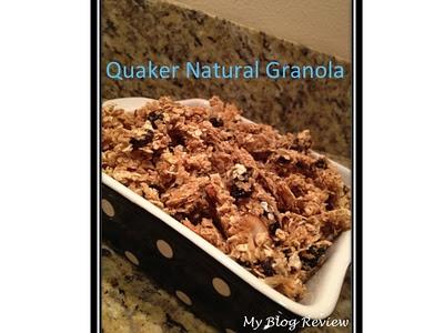 Quaker Granola ♥My Own Blog Review