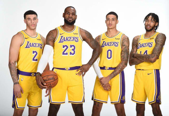 Ranking The Five Year Window Of Every Nba Franchise Yardbarker Com Lakers Team Lebron James Lakers Nba Basketball Teams