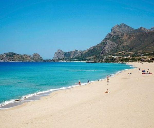 La plage de #Phalassarna