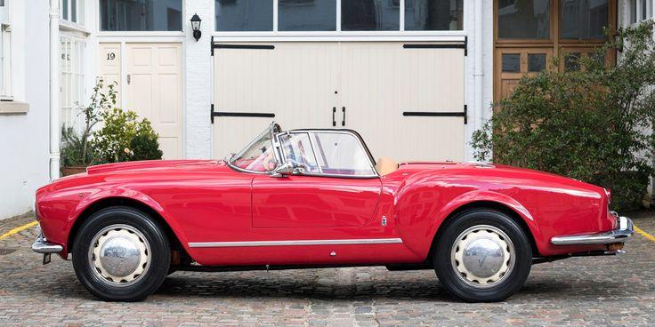 F1 Driver Owned 1955 Lancia Aurelia Spider B24 America • Petrolicious