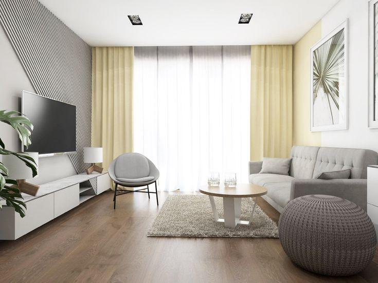 20 qm Wohnzimmer einrichten – Layout Beispiele und smarte ...