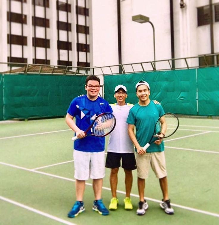 Rain or shine. We work hard. We play harder. Cheers to @jootennis the life maestro bro.  All we need is @joalxndr. �������� . . . . . . . . . . . . . . . . . #tennislife #citylife #singapore #islandlife #tropical #tennis #coach #squad #tennisbros #rally #training #backinseason #tropicalisland #singaporelife #travel #adventure #guru http://tipsrazzi.com/ipost/1523864733852910883/?code=BUl2ubTDEUj