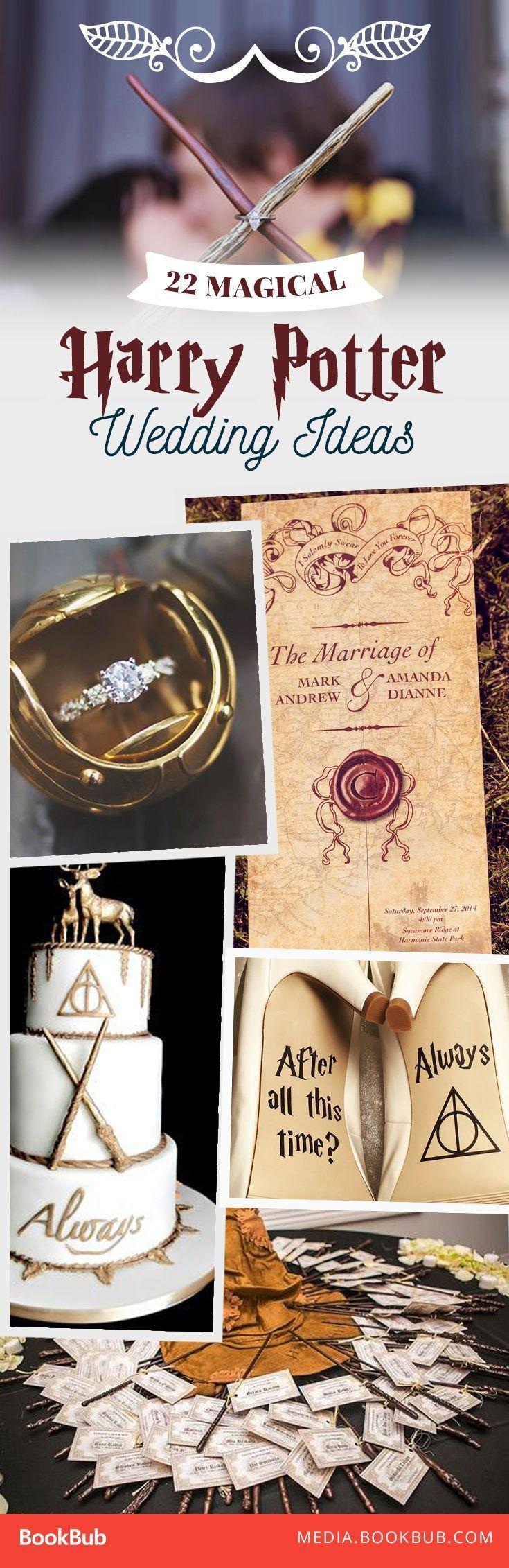 20 Magisch & # 39; Harry Potter & # 39; Hochzeitsideen – # 39Harry #Magic # Potter39 … – Harvey Clark – Ver Mo