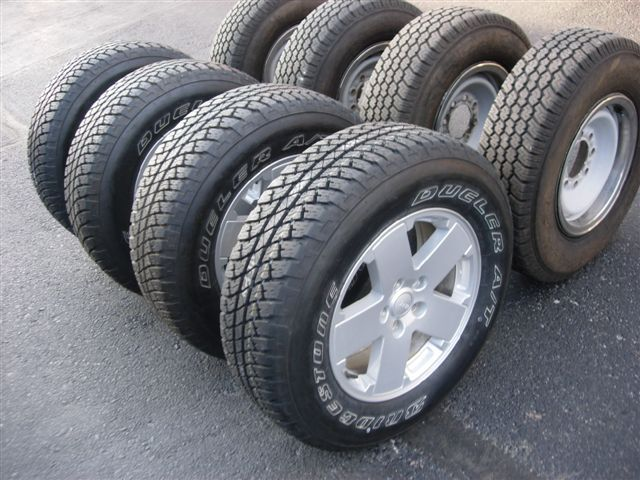 used rims with tires