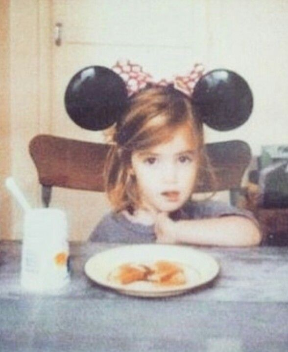 She was so cute when she was little. Little did her parents know that she was going to grow up and be a Harry Potter actress!