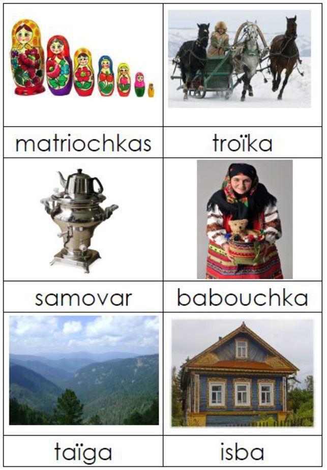 Projet autour de la Russie