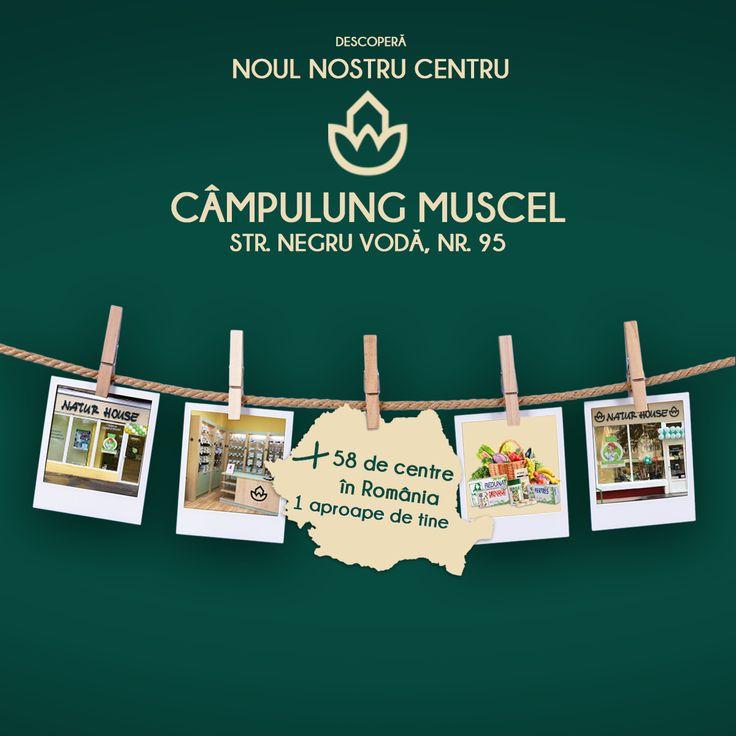 Începând cu data de 1 iunie 2017, vă așteptăm în noul centru Natur House din orașul Câmpulung Muscel, județul Argeș. Centrul este deschis zilnic, de lunea până vinerea, în intervalul orar 12-18. #naturhouseromania