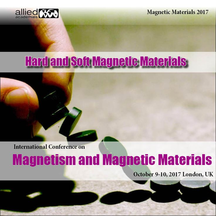 Hard and Soft Magnetic Materials A #permanentmagnet is a magnet that is permanent, in similarity to an #electromagnet, which only acts like a magnet when an electric current is streaming through it. Permanent magnets are prepared of substances like #magnetite , the most magnetic arising mineral, or neodymium, a powerfully magnetic synthetic substance.