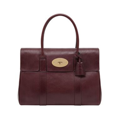 Mulberry Timeless Elegant Gifts - Bayswater in Oxblood Natural Leather