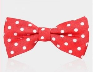 bow tie red 1061